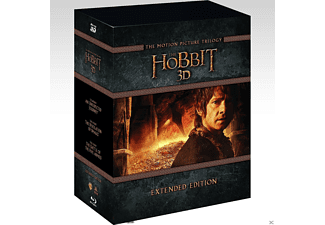 The Hobbit: Η τριλογία Special Slipcase 3D BD&2D BD, Blu-ray