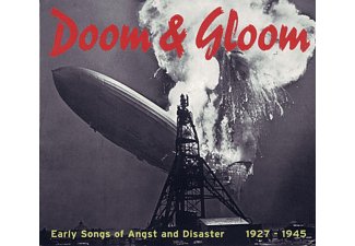 VARIOUS - Doom & Gloom - Early Songs Of Angst And Disaster 1927-1945 - (CD)