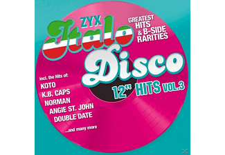 "VARIOUS - Zyx Italo Disco 12"" Hits Vol.3 - (CD)"