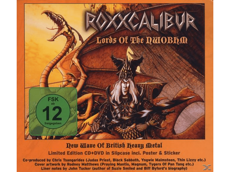 Roxxcalibur - Lords Of The Nwobhm [DVD]
