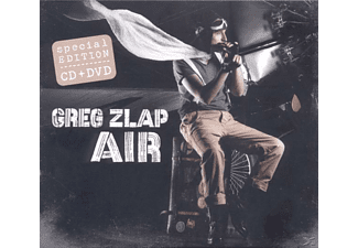Greg Zlap - Air (Cd+Dvd) - (CD + DVD Video)