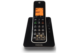 MOTOROLA Draadloze telefoon Single set (CD201)