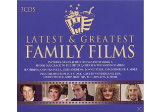 O.S.T. - Latest & Greatest Family Films - (CD)