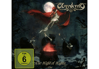 Elvenking - The Night Of Nights-Live (2cd+Dvd Digipak) - (CD)