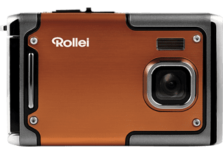 ROLLEI Sportsline 85 Digitalkamera Orange, TFT-Display