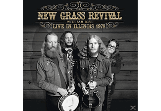 New Grass Revival With Sam Bush - Live In Illinois 1978 - (CD)