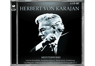 Herbert von Karajan - Meisterwerke-Best Of - (CD)