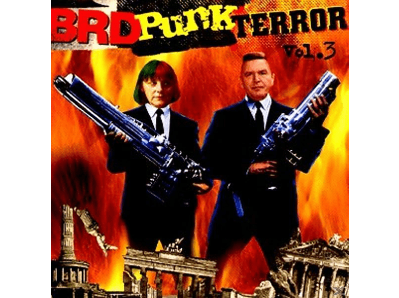 VARIOUS - Brd Punk Terror Vol.3 [CD]