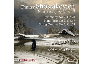The Czech Philharmonic Orchestra - In The Wake Of World War Ii - (CD)