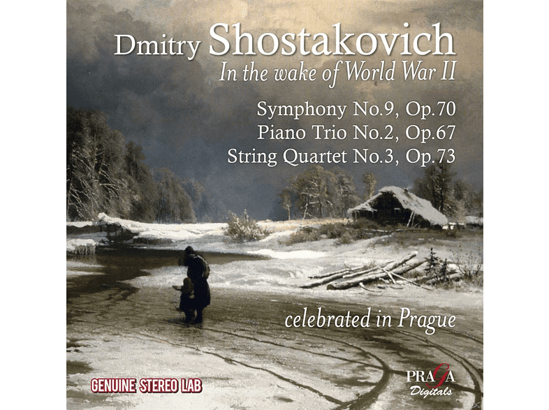The Czech Philharmonic Orchestra - In The Wake Of World War Ii [CD]