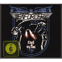 Enforcer - Live By Fire [CD + DVD Video]