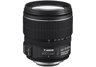 CANON Standaardlens EF-S 15-85mm F3.5-5.6 IS USM (3560B005)