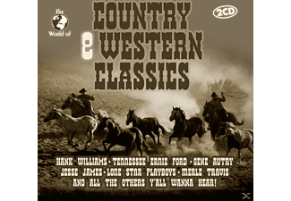VARIOUS - COUNTRY & WESTERN CLASSICS - (CD)