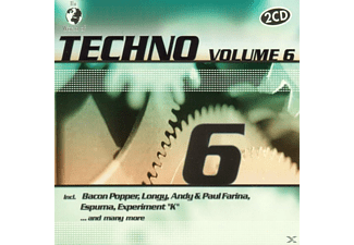 VARIOUS - W.O.Techno Vol.6 - (CD)