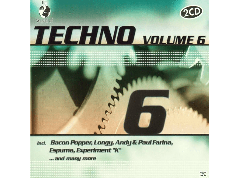 VARIOUS - W.O.Techno Vol.6 [CD]