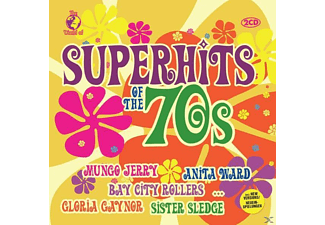 VARIOUS - World Of Superhits Of The 70s - (CD)