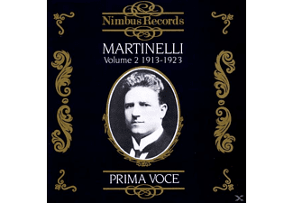 VARIOUS, Giovanni Martinelli - Martinelli Vol.2/Prima Voce - (CD)