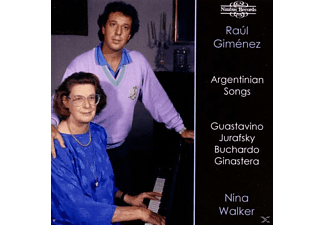 GIMENEZ,RAUL & WALKER,NINA - Argentinian Songs - (CD)