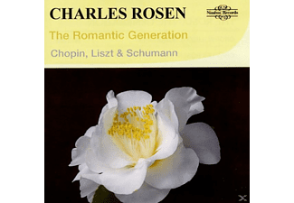 Charles Rosen - The Romantic Generation - (CD)