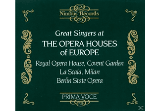 VARIOUS, Gigli, Caruso, Melba - Great Singers At Opera Houses - (CD)