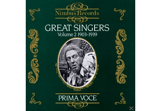 VARIOUS, Björling, Pinza, Flagstad - Great Singers Vol.2/Prima Voce - (CD)