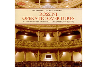LARDEO & SCOTTISHCHAMBERORCH., Lardeo/Scottish Chamber Orch. - Rossini:Overtures - (CD)