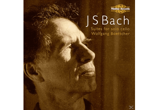 Wolfgang Boettcher - Bach Suites For Cello Solo - (CD)