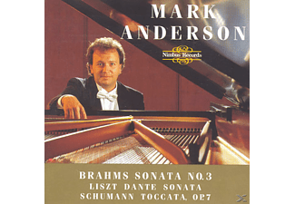 Mark Anderson - Klaviersonate 3/Dante Sonata - (CD)