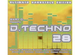 VARIOUS - D.Techno 28 - (CD)