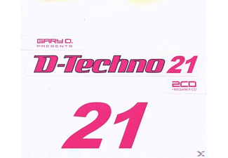 VARIOUS - D-Techno 21 - (CD)