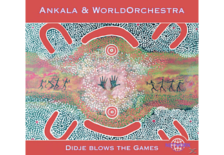 Ankala, Worldorchestra - Didje Blows the Games - (CD)