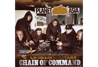 Planet Asia & Gold Chain Military - Chain Of Command - (CD)