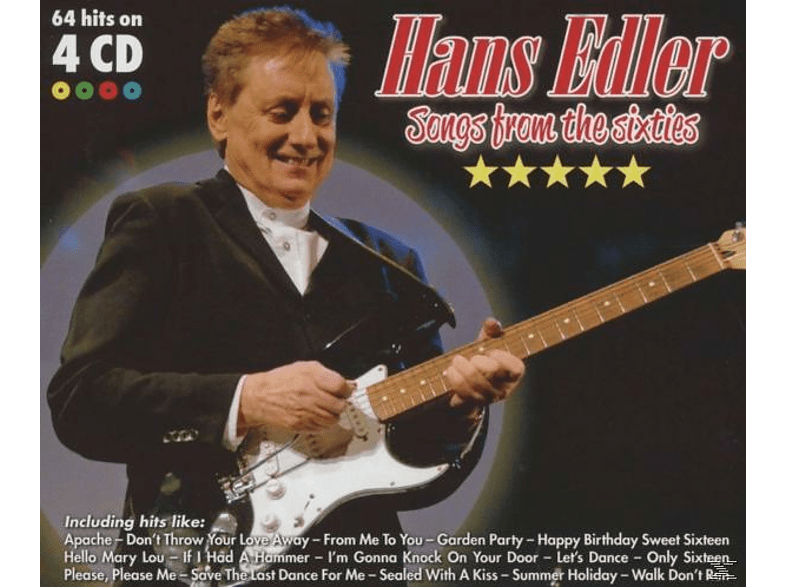 Hans Edler - Songs from the sixties [CD]