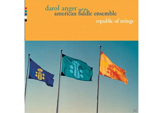 Darol And The American Fiddle Ensemble Anger - REPUBLIC OF STRINGS - (CD)