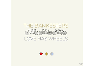 The Bankesters - LOVE HAS WHEELS - (CD)