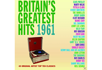 VARIOUS - Britain's Greatest Hits 1961 - (CD)