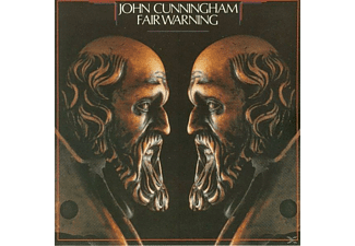 John Cunningham - FAIR WARNING - (CD)