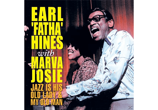 Earl Fatha Hines, Marva Josie - Jazz Is His Old Lady & My Old Man - (5 Zoll Single CD (2-Track))