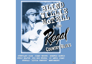 Blind Willie McTell - The Regal Country Blues - (CD)