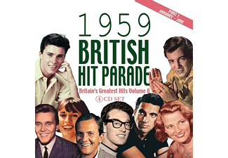 VARIOUS - The 1959 British Hit Parade Part 1 - (CD)