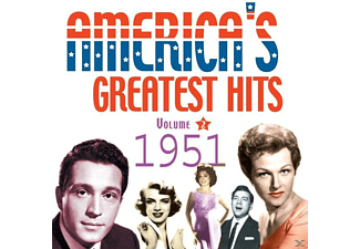 VARIOUS - America's Greatest Hits Vol.2-1951 - (CD)