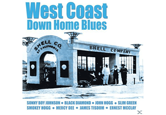 VARIOUS - West Coast Down Home Blues - (CD)