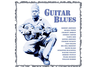 VARIOUS - Guitar Blues - (CD)