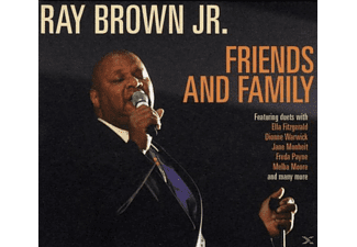 RAY JR. Brown - Friends & Family - (CD)