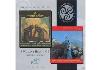 VARIOUS - A Woman's Heart Vol.1 & 2 - (CD)