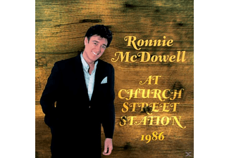 Ronnie Mcdowell - At Church Street Station - (CD)