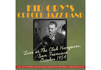 Kid Ory's Creole Jazz Band - Live At The Club Hangover, San Francisco October 1954 - (CD)