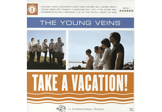 The Young Veins - Take A Vacation! [LP + Bonus-CD]