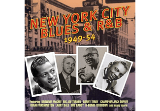 VARIOUS - New York City Blues & R&B (1949-54) - (CD)