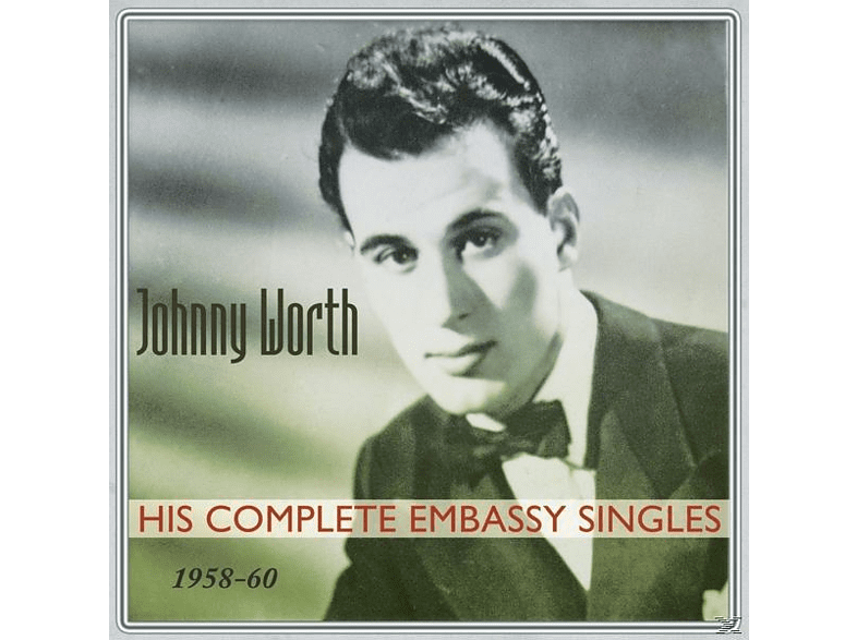 Johnny Worth - His Complete Embassy Singles (1958-60) [CD]